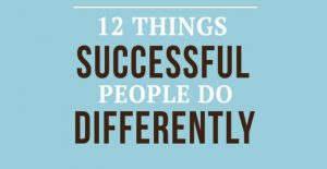 successful people-differently